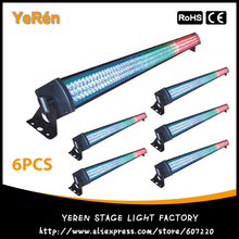 (6PCS) LED Light Bar Led Flood Light 252Pcs RGB Color LED Wall Washer DMX Free Shipping