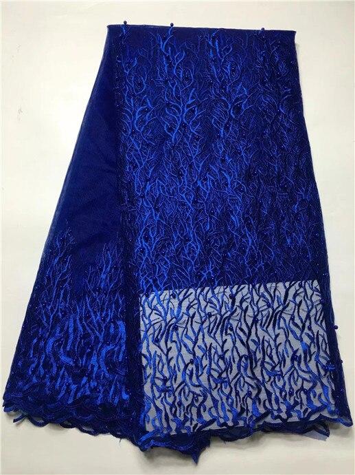 2017 alta calidad Africana cordones bordado tejidos/Royal azul granos africanos neto suizo tela de encaje-in encaje from Hogar y Mascotas on AliExpress - 11.11_Double 11_Singles' Day 1
