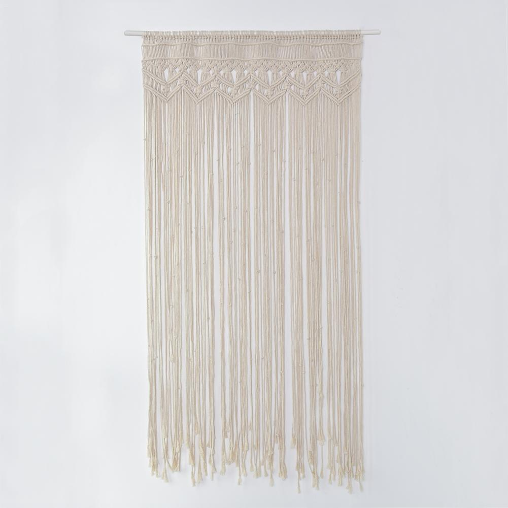 Handmade Hanging Wall Tapestry Macrame Wedding Ceremony Backdrop Wall Art 2018 New Year Wedding Home Living Room Decoration