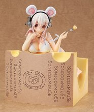 17cm Super SONICO Action Figure Super Sonic Sexy Doll PVC Anime Figure Bikini Sexy Girl Action Figure GC033