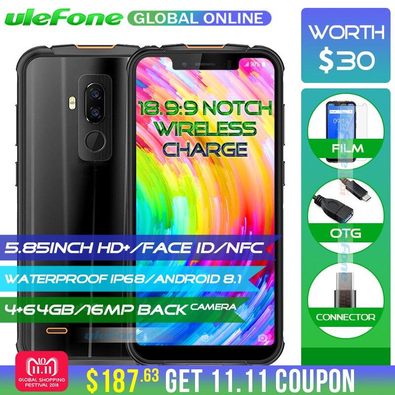 Ulefone Rüstung 5 IP68 Wasserdichte Handy Android 8.1 5,85