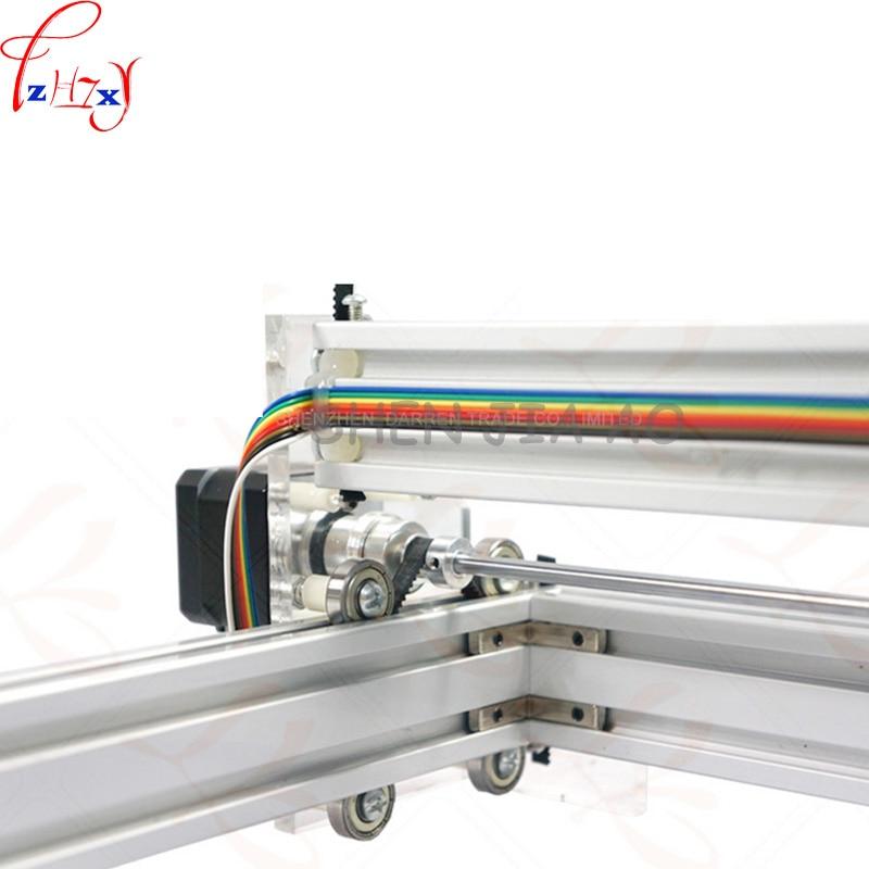 1pc 1.5W DIY mini laser engraving machine 1500mW Desktop DIY Laser Engraver Engraving Machine Picture CNC Printer DC12V - 5