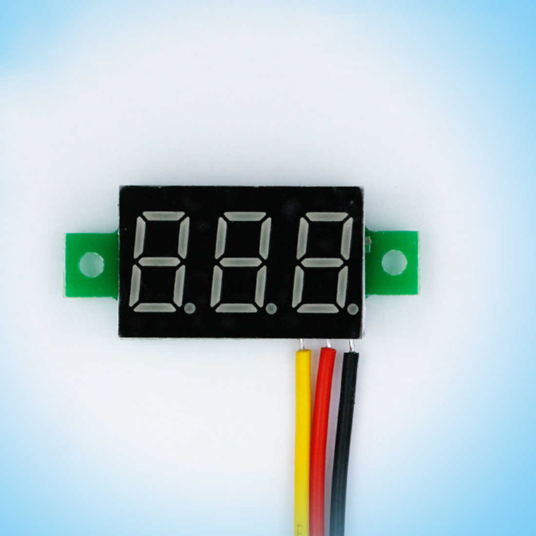 1PC Mini 0.36 inch DC 0-100v 3 bits Digital Red LED Display Panel Voltage Meter Voltmeter Tester Digital Ammeter Voltmeter