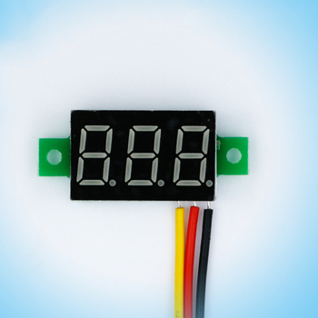 Digital Ammeter Voltmeter 1PC Mini 0.36 inch DC 0-100v 3 bits Digital Red LED Display Panel Voltage Meter Voltmeter tester Voltage Meters