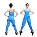 De las mujeres Bajar de Peso Pantalones Sauna Traje Más Tamaño Sauna Sudor Trajes Suspender Pantalones Ropa de Adelgazamiento de Pérdida de Peso