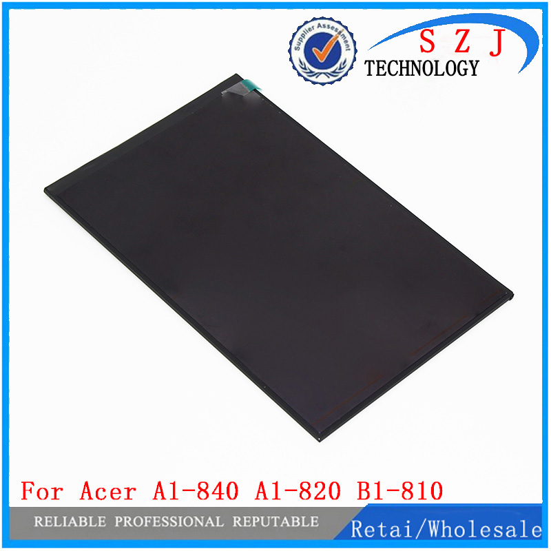 New 8 inch For Acer A1-840 A1-820 B1-810 LCD Display Panel Monitor Screen Moudle Repair Replacement Part Free shipping for new lcd display touch screen digitizer with frame assembly replacement acer a1 820 8 inch black free shipping