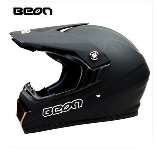 Netherland BEON мотоциклетный шлем для мотокросса высшего качества рыцарь внедорожный мотоциклетный защитный шлем из АБС B-600 Размер M L XL - Цвет: Matte black