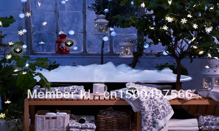 Online Shop IKEA STRALA LED Outdoor Festival Lights 48X   Aliexpress Mobile