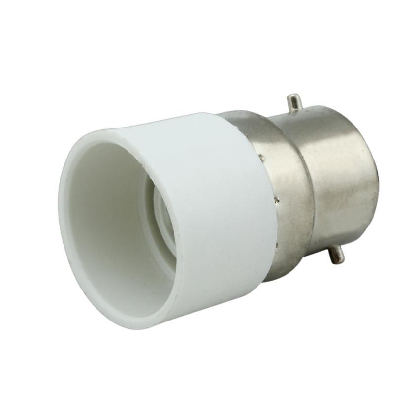 2017 B22 to E14 Base Socket Light Bulb Lamp Holder Adapter Plug Converter