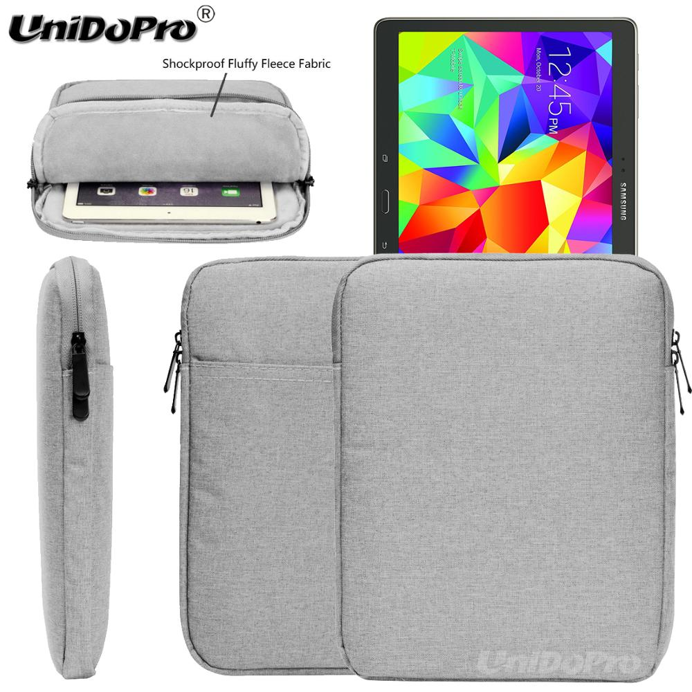 Unidopro Wasserdichte Tasche für Samsung Galaxy Tab 10,5 S Wifi T800 LTE T805 Tablet Schützender Sleeve Zipper Tasche abdeckung