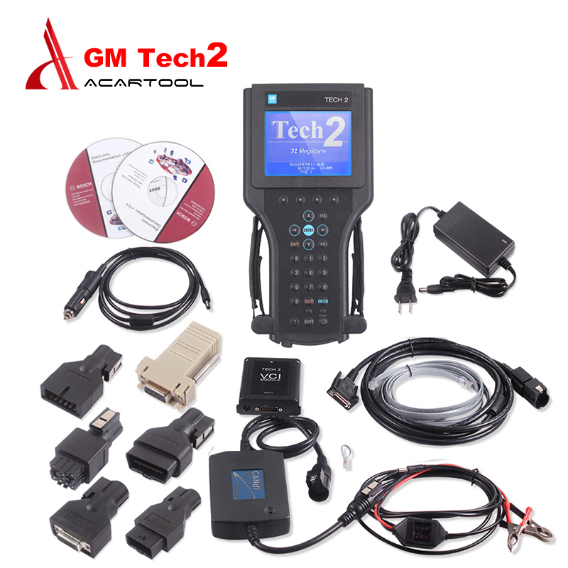 Auto Car Doctor For Gm tech2 diagnostic tool for GM/SAAB/OPEL/SUZUKI/ISUZU/Holden Vetronix gm tech 2 scanner without plastic box