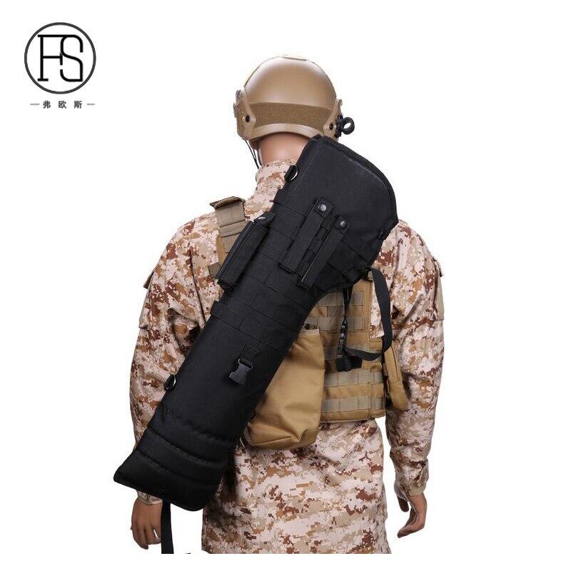 Tactique de plein air Sport pliant sac de chasse poche Molle militaire Camouflage épaule sac à dos armée fusil accessoires sac