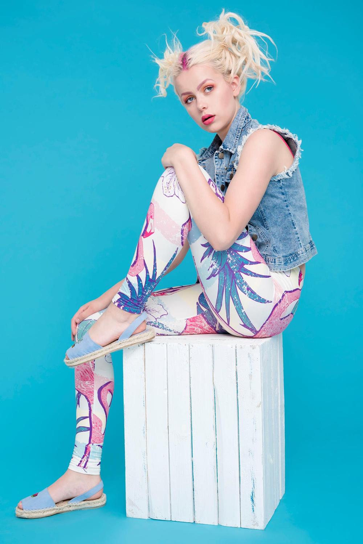 45938 retro shirt flamingo KOLOR (3) (Copy)