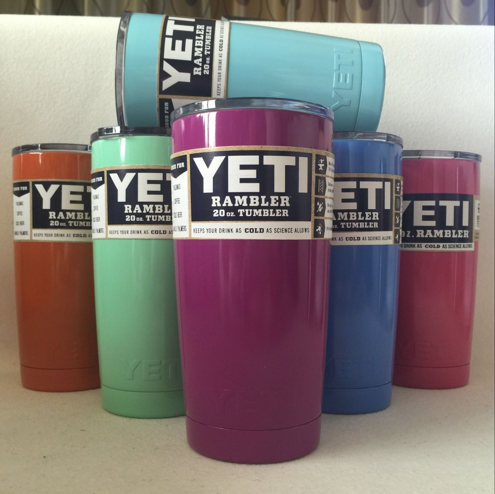 7 Colors 20oz <font><b>Yeti</b></font> <font><b>Cup</b></font> <font><b>304</b></font> <font><b>Stainless</b></font> <font><b>Steel</b></font> <font><b>Yeti</b></font> <font><b>Rambler</b></font> <font><b>YETI</b></font> <font><b>Coolers</b></font> <font><b>Rambler</b></font> Tumbler Double Walled Travel Mug <font><b>YETI</b></font> <font><b>cup</b></font> colster