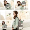 Nueva llegada Totoro bolso de escuela niños mochila bolsa de felpa de totoro gato de dibujos animados hotsale lindo Niños zoo mochila Envío gratis