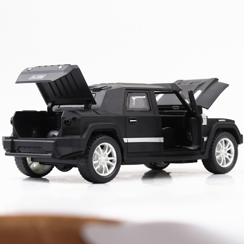 1 32 Kayakh War Shield light belt pull back vehicle simulation alloy car model crafts decoration collection toy tools in Diecasts Toy Vehicles from Toys Hobbies