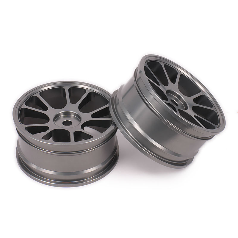 Wheel Rim No Tire For Rc 1/10 On-Road Racing Car Crawler RC Parts HSP Axial Wltoys Himoto HPI Traxxas Redcat 10 Spoke Wheel Rim 12pcs 02037 e clip 2 5 for hsp 1 10 rc car spare parts replacement hardware redcat himoto team associated axial traxxas model