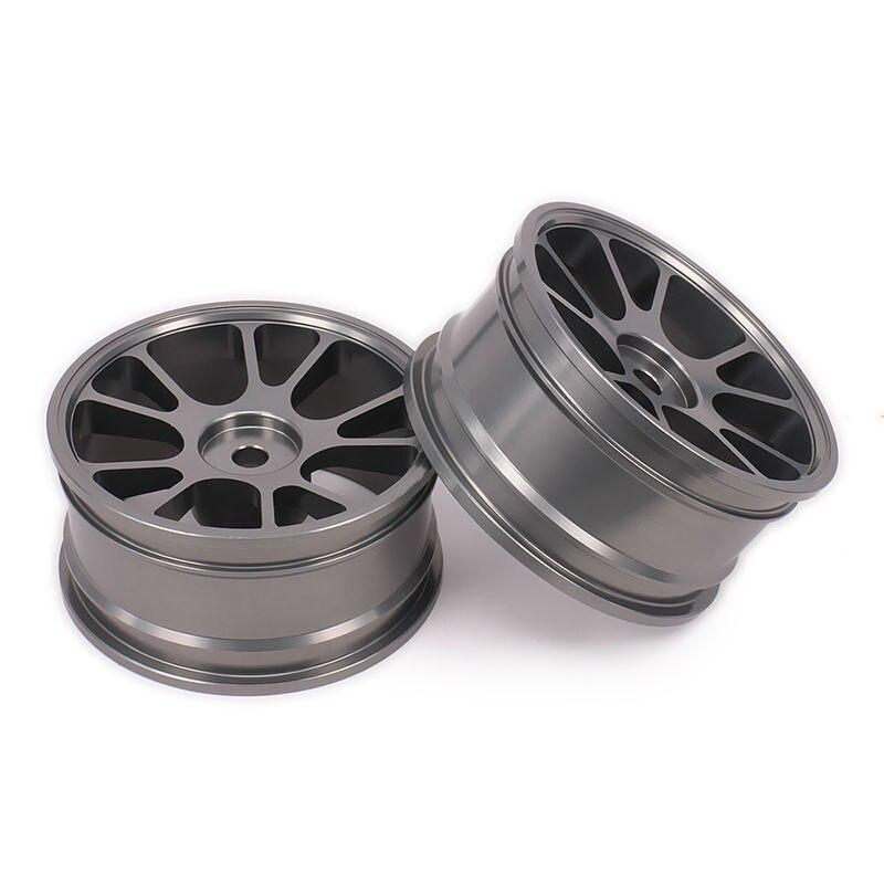 Wheel Rim No Tire For Rc 1/10 On-Road Racing Car Crawler RC Parts HSP Axial Wltoys Himoto HPI Traxxas Redcat 10 Spoke Wheel Rim