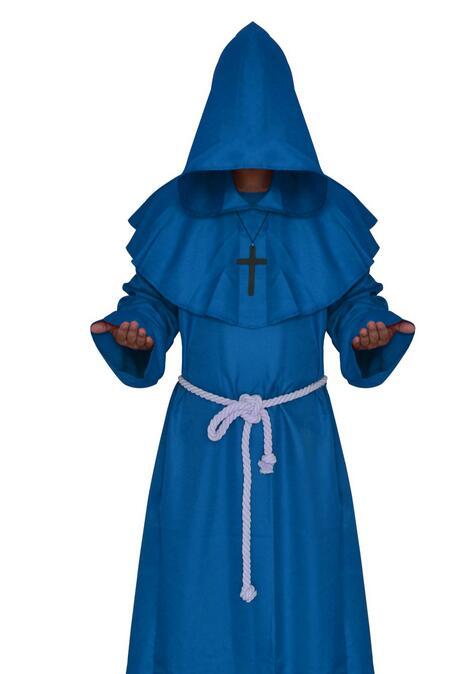 LIVRARE GRATUITĂ Călugăriță Călugăriță Haină Cloak Cape - Costume carnaval - Fotografie 3