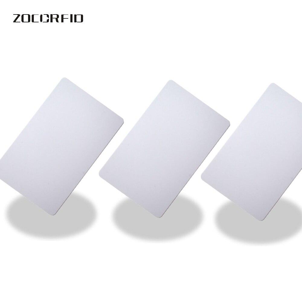 100 Pcs/lot Nfc Smart Tag Lumia Blank Card Thin Pvc Card RFID 13.56MHz IC Card/ ISO14443A Smart Card