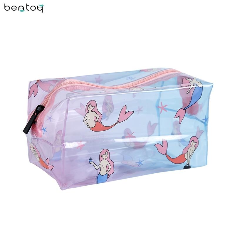 Bentoy Fresh Portable Toiletry Women Cosmetic Bag Waterproof Makeup Make Up Case Travel Wash Organizer Storage Pouch Handbag