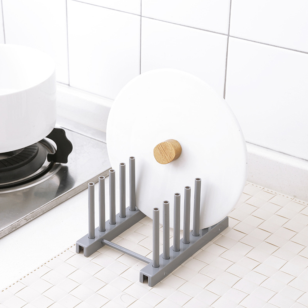 Lid Holder Detachable Cup Rack High Quality Dish Drying Rack Organizer Dryer Storage Stand Portable ABS Kitchen Accessories