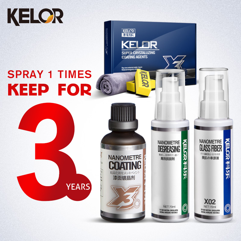 Kelor Paint Care Car covers Glass Coating Car Wax Liquid Car Polish Fix It Car Paint