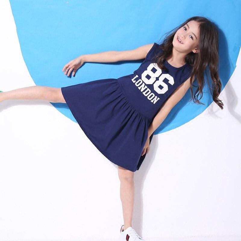 2018 Active Sport Dress for Teen Girls Baseball Basketball Dresses Frock  Design for Kids Age 5 8ce5d65843dd