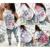 Awaytr hacer cosas pequeñas de Impresión de Manga Larga Camisetas Mujeres Casual Camiseta Tee Tops Casual Blanco Gris Tops femininos Femme C3623