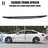 F36 M Performance Carbon Fiber Rear Wing Spoiler for BMW F36 420i 428i 435i 418d 420d 430d 435d Gran Coupe 4DR 2014 2018
