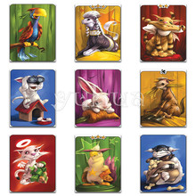 Full Round Diamond mosaic Cartoon cat dog Square embroidery Color 5D DIY painting Cross stitch Animal #