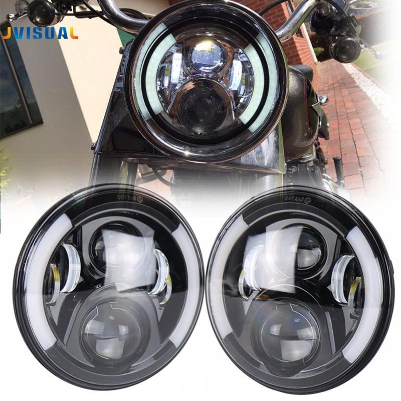 Daymaker Generation 2 LED Head light Harley 7