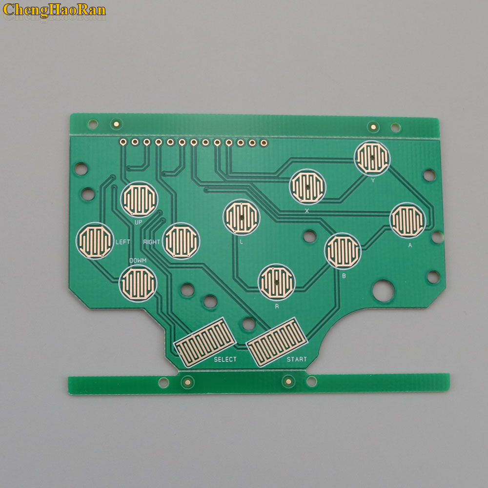 Image 5 - For DMG GB Plastic A B Button Silicon D pad Select Start Rubber Button For Raspberry Pi Zero PCB Board & Lens Protector-in Replacement Parts & Accessories from Consumer Electronics