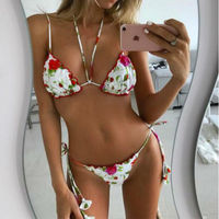 New Swimwear Bandage Bikini 2017 Sexy Ladies Swimwear Women Swimsuit Bathing Suit Brazilian Bikini Set