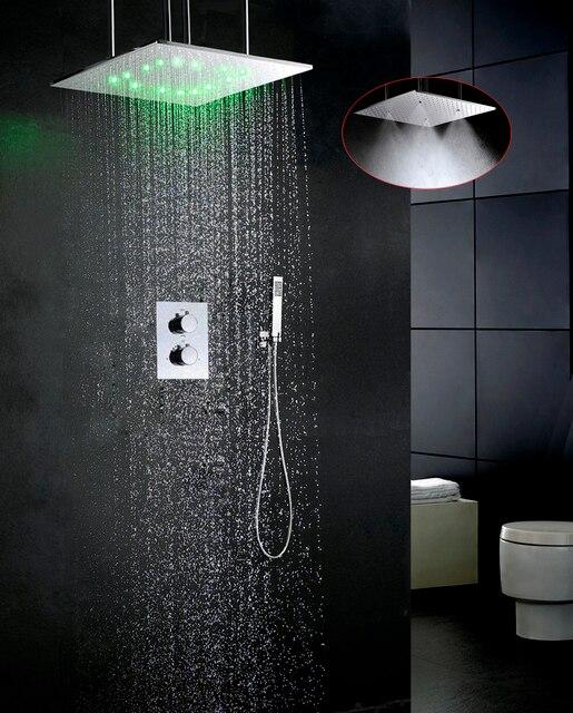 Luxe Badkamer Kraan Set Water Temperatuur LED Douchekop Easy ...