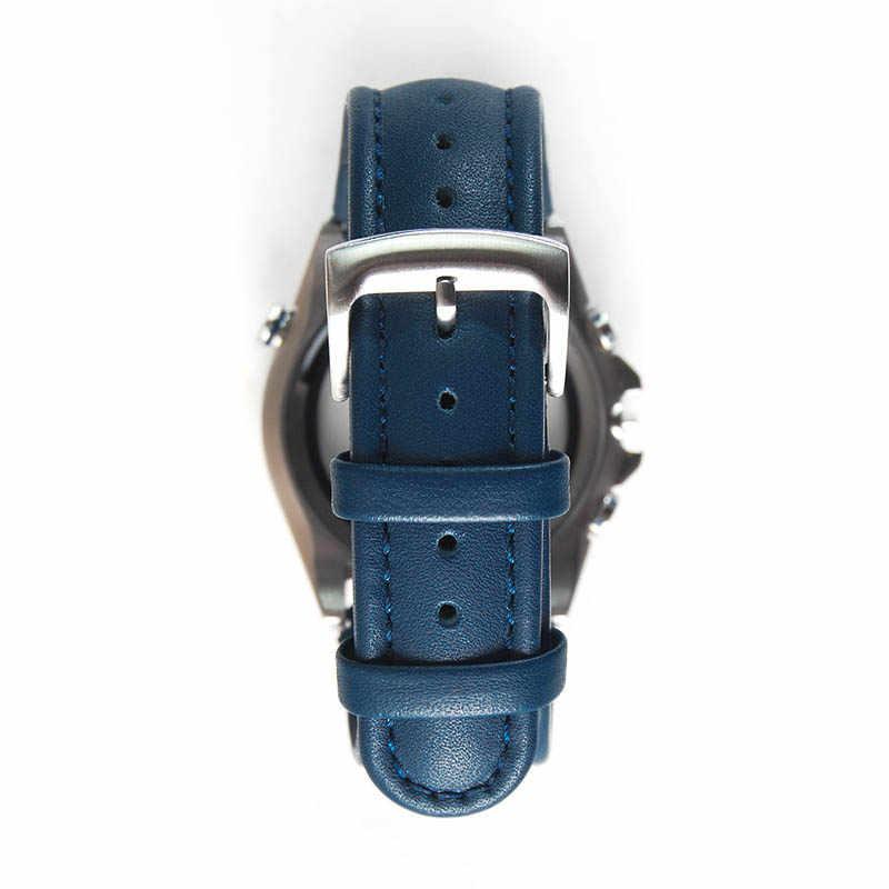 Di ricambio per Citizen 23 millimetri AT8020-03L H800-S081165 Blue Angels Fascia Della Cinghia di Cuoio