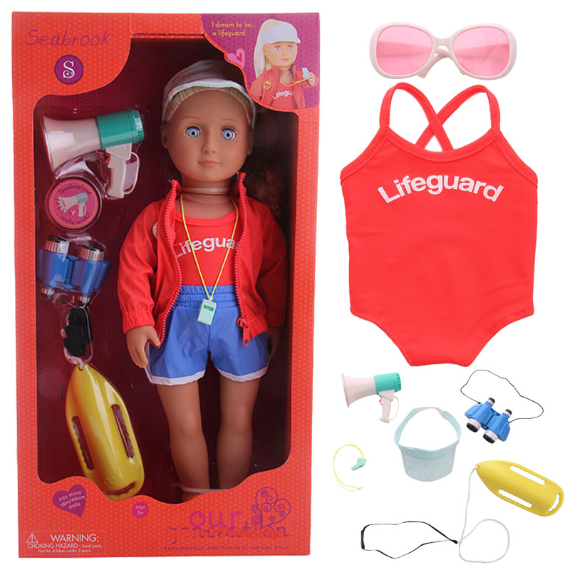 Package Include 18 Inch American Doll, Clothes And Accessories,Girl's Toys,Generation,Birthday Gift