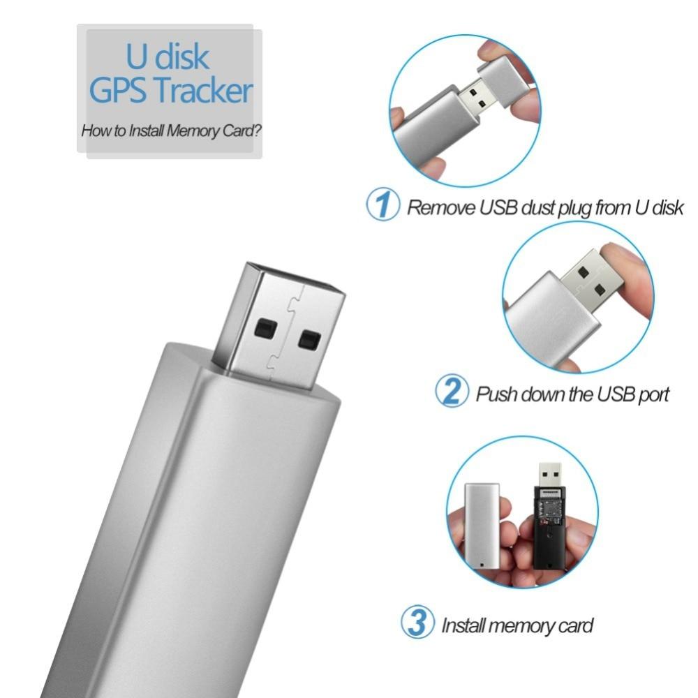 32GB Mini USB Flash Disk WiFi+LBS+AGPS Locator Tracker WiFi Smart Voice Recording Music Player GPS Positioning Device