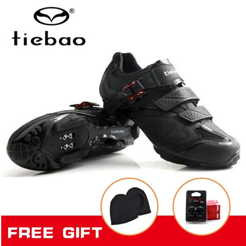 Tiebao Cycling Shoes Racing MTB AutoLock SelfLock Bike SPD Bicycle Mountain Shoes For Men Women Scarpa Da Ginnastica Anti-slip tiebao cycling shoes for women