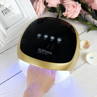 SUN 4x Nail Lamp 52W UV Lamp For Nail Manicure LED Sensing Dry Nail Lighting for Gel Curing Manicure Machine Nails Art Tool