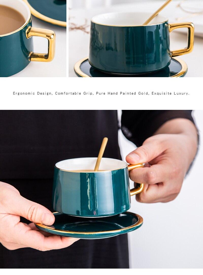 Copo de café britânico de grau superior