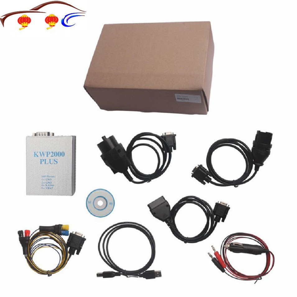 Top qualité KWP2000 voiture Diagnostic KWP2000 ECU Tuning outil OBD2 Scan outil KWP2000 Plus Ecu Flasher