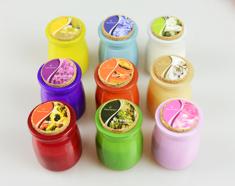New Arrival mosquitos Insect Repellents scented candles decorative glass candle jars Citronella Tealight Candles home decor 5