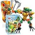 58 unids bela hero factory chi cragger modelo kit acción ladrillos de construcción juguetes compatibles con lego