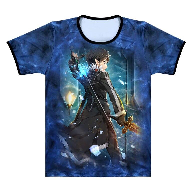 Anime Sword Art Online T Shirt SAO Streetwear T shirt ...