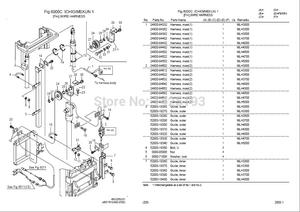 Image 1 - Nyk   Nichiyu Forklift 2012 Spare parts catalog