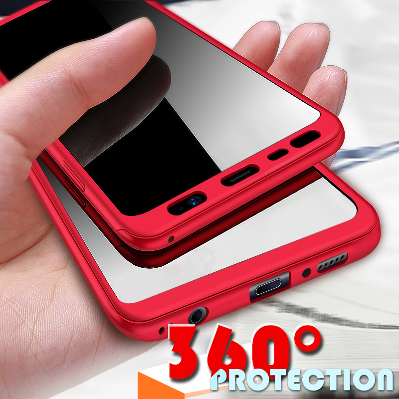uk availability a4c44 9b0ba 360 Degree Full Cover Samsung Galaxy A3 A5 A7 S8 S9 Plus Matte Hrad Samsung  S7 S7 Edge S8 S9 Not 8