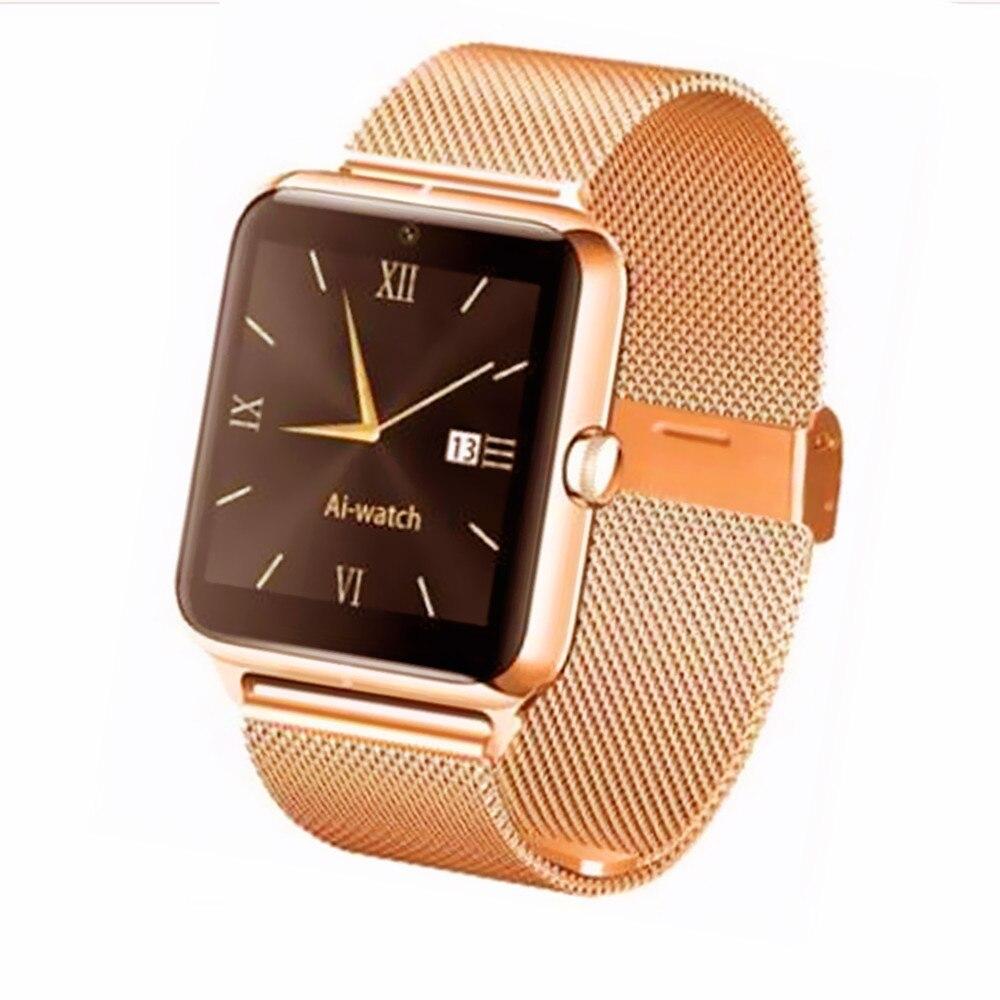 Z50 font b Smart b font font b Watch b font Luxury Men Women Bluetooth Wrist