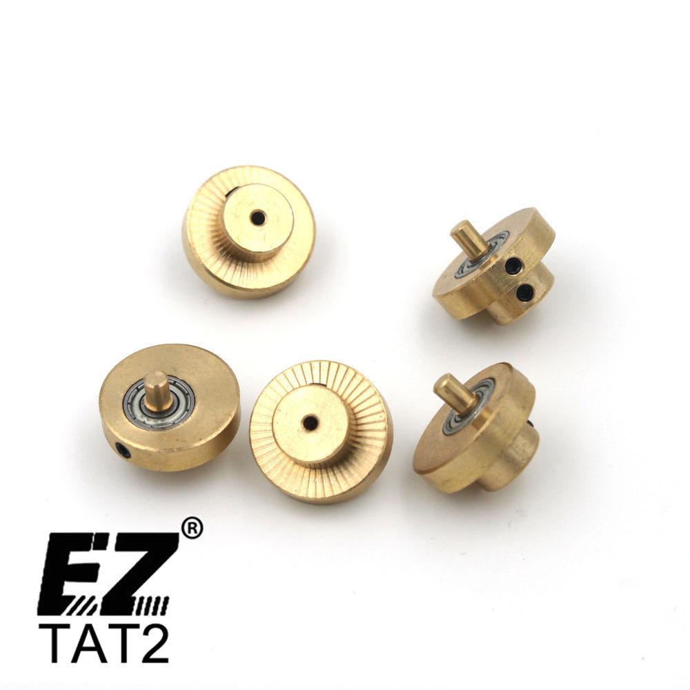 3,5 mm 4,5 mm odmikači medeninasti rotacijski stroj motorni odsek motorji odmični deli za tatoo stroj 5 kosov / lot