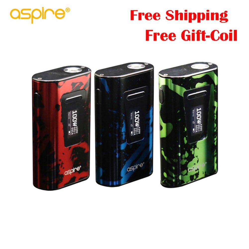 Original 100W Aspire Typhon Revvo Mod 5000mah vape e cigarette fit for Revvo tank VS Aspire skystar Mod Vape Mod Box Mod цена